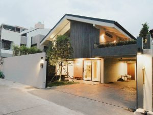 Modern house sukhumvit front
